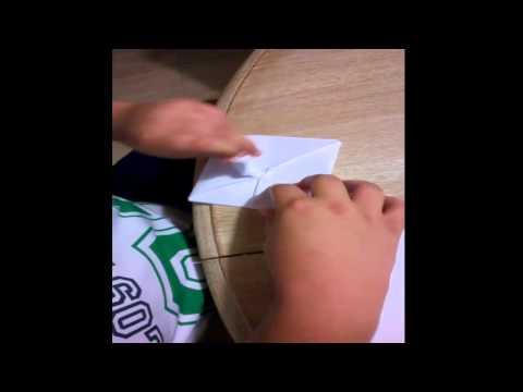 Papiroflexia para novatos | Como hacer una rana de papel simple