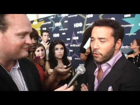 Jeremy Piven Adrian Grenier Turtle Entourage 2011 with Brad Blanks