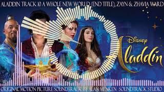 Aladdin, 10, A Whole New World (End Title), Zayn Ward & Zhavia Ward