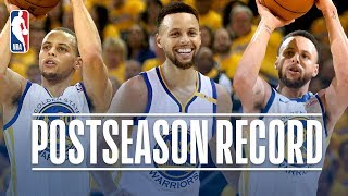 Stephen Curry's Best Career Playoff 3-Pointers
