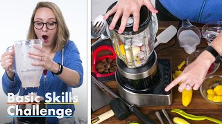 50 People Try To Make A Smoothie | Epicurious
