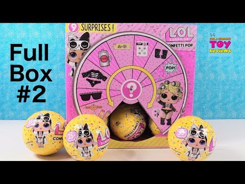 LOL Surprise Full Box #2 Series 3 Toy Doll Review Unboxing | PSToyReviews