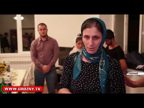Фонд Кадырова вручил ключи от нового дома сиротам, потерявшим родителей в страшной автокатастрофе