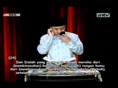Yusuf Mansur Wisata Hati Antv Qs Al Fath (ayat 1 - 29) video