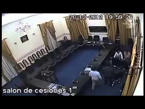 Diputado Violador  Grabado en Salon de Ceciones por Camaras de Seguridad