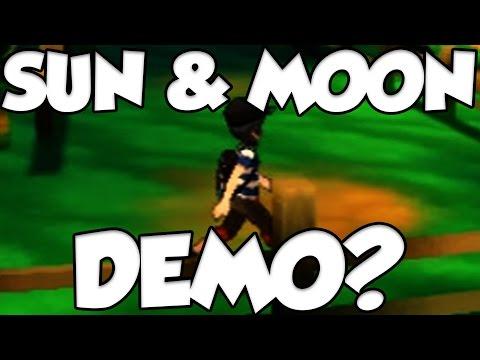 POKEMON SUN AND MOON DEMO NEWS?