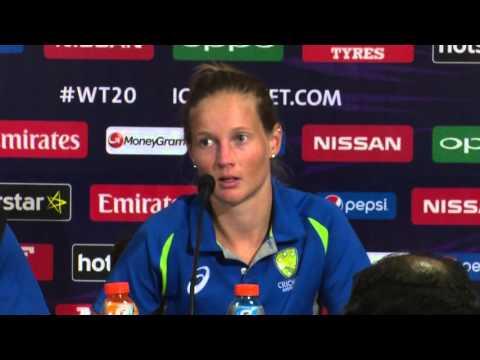 WOMEN'S FINAL - AUSTRALIA - POST MATCH PRESS CONFERENCE