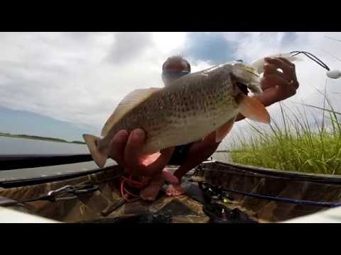 Venice, Louisiana kayak fishing (Weekend in Venice) 720p HD
