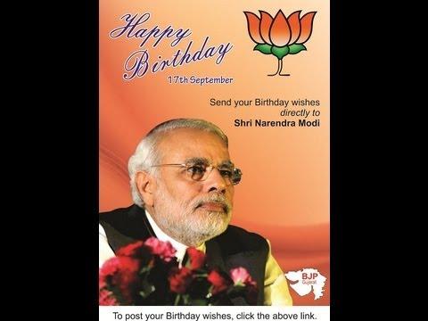 Happy Birthday Modi Happy Birthday Shri Narendra