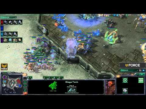 StarCraft 2 - 2v2 PT vs PT - Commentary