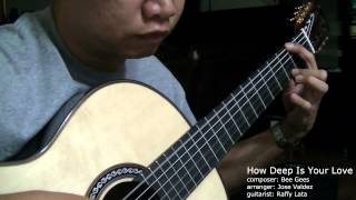 How Deep Is Your Love - Bee Gees (arr. Jose Valdez) Solo Classical Guitar