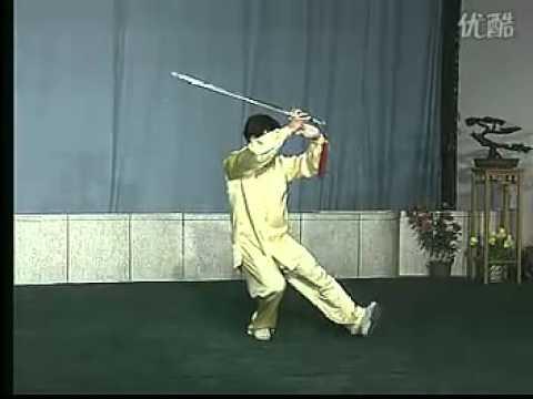 陈思坦42式太极剑全套 背向
