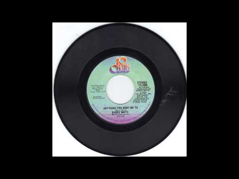 1975 Barry White - Anything You Want Me To (instrumental) video