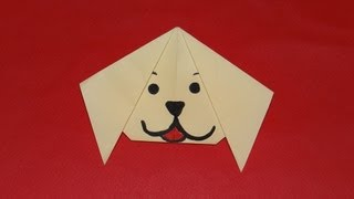 How To Make An Origami Puppy Face