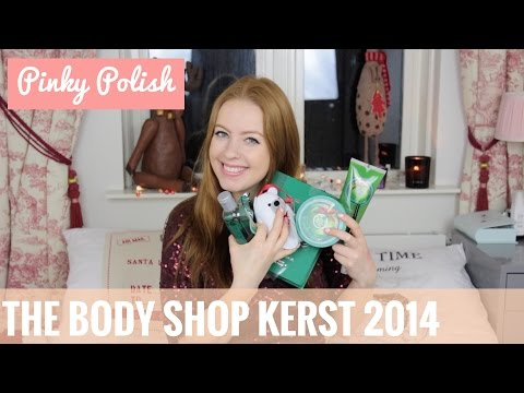 The Body Shop Kerstproducten 2014 | PinkyPolish.nl