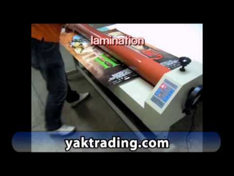 Electric Laminator Professional Laminating TSL1600E Cold Laminator
