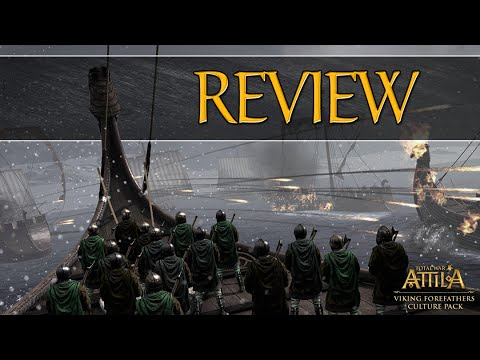 Total War: Attila - Viking Forefathers DLC REVIEW! - (Campaign. Rosters & Units)