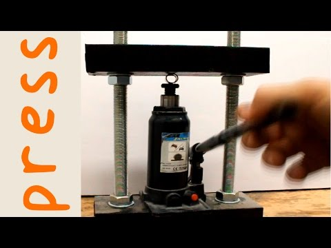 DIY 5 Ton Hydraulic Press