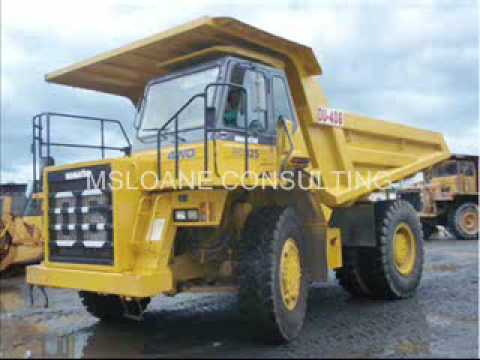 Used Mining and Construction Equipment Gear