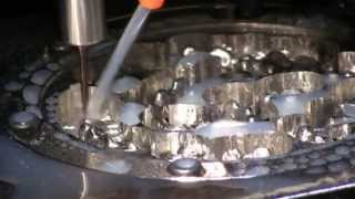WorkNC Dental - 4-Axis Crown and Bridge High speed milling