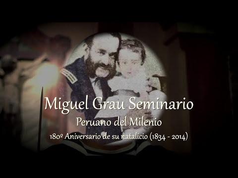 180 Aniversario del natalicio del Gran Almirante Miguel Grau Seminario