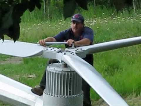 Making of a Redriven wind turbine Part 2a.wmv