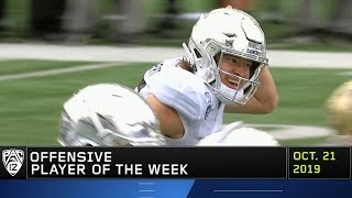 Ducks' Justin Herbert named Pac-12 Offensive Player of the Week