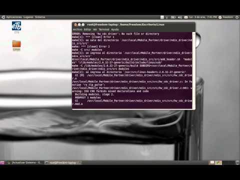 Configurar Modem Huawei de ETB en Ubuntu