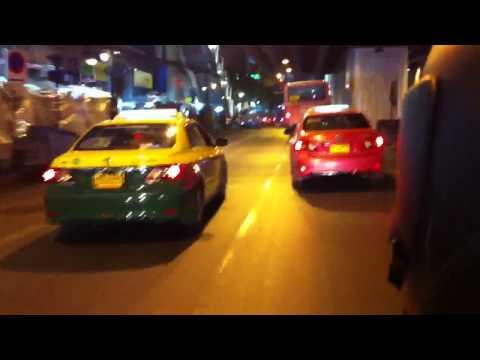 Crazy Bangkok motorbike taxi ride
