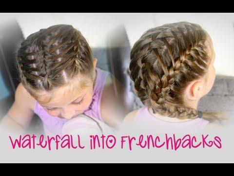 Waterfall Into Double Frenchbacks   Sport Hairstyles video