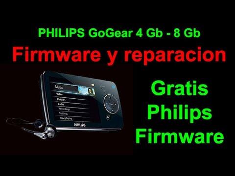 philips gogear 4 gb y 8gb reparacion y firmware Modelo: SA52xx || Philips GoGear MP4 repair