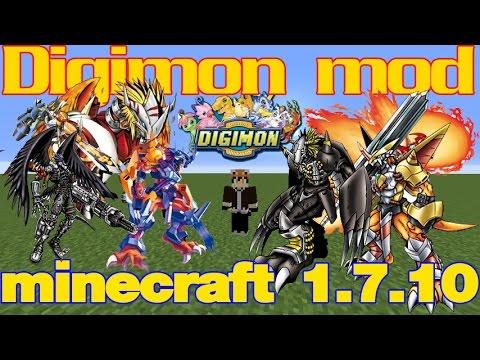 minecraft mod รีวิว Digimon Mod Digimobs แบบละเอียด   ลุงว้อบเมเปิ้ล