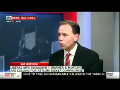 Greg Hunt on AM Agenda 26 June 2012