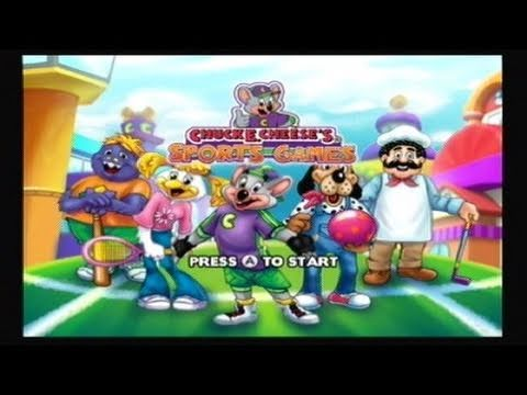 Chuck E. Cheese's Sports Games Review (Wii)