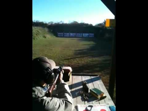 Mike shooting a Remington 760 gamemaster