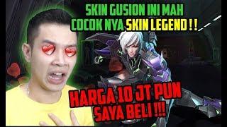 SKIN GUSION BARU! 10 JT PUN KU BELI!! REVIEW BY TOP 1 GUSION!! WKWKWKW - Mobile Legends