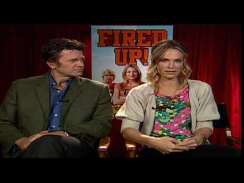 Molly Sims and John Michael Higgins interview for Fired Up! Video