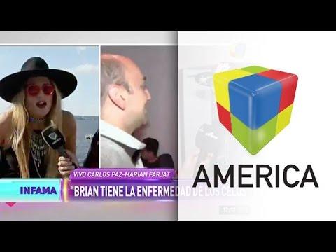 Marian Farjat y Brian Lanzelotta: video, celos y una nueva pelea