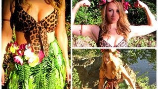 "Katy Perry ""Roar"" DIY Halloween Costume!"