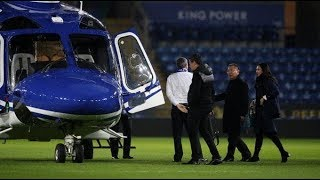 (VIDEO) Leicester City owner helicopter crash -  Caught On Camera