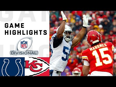 Colts vs Chiefs Divisional Round Highlights  NFL 2018 Playoffs