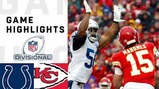 Colts vs Chiefs Divisional Round Highlights | NFL 2018 Playoffs