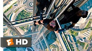 Mission: Impossible - Ghost Protocol (2011) - Climbing the Burj Khalifa Scene (4/10) | Movieclips