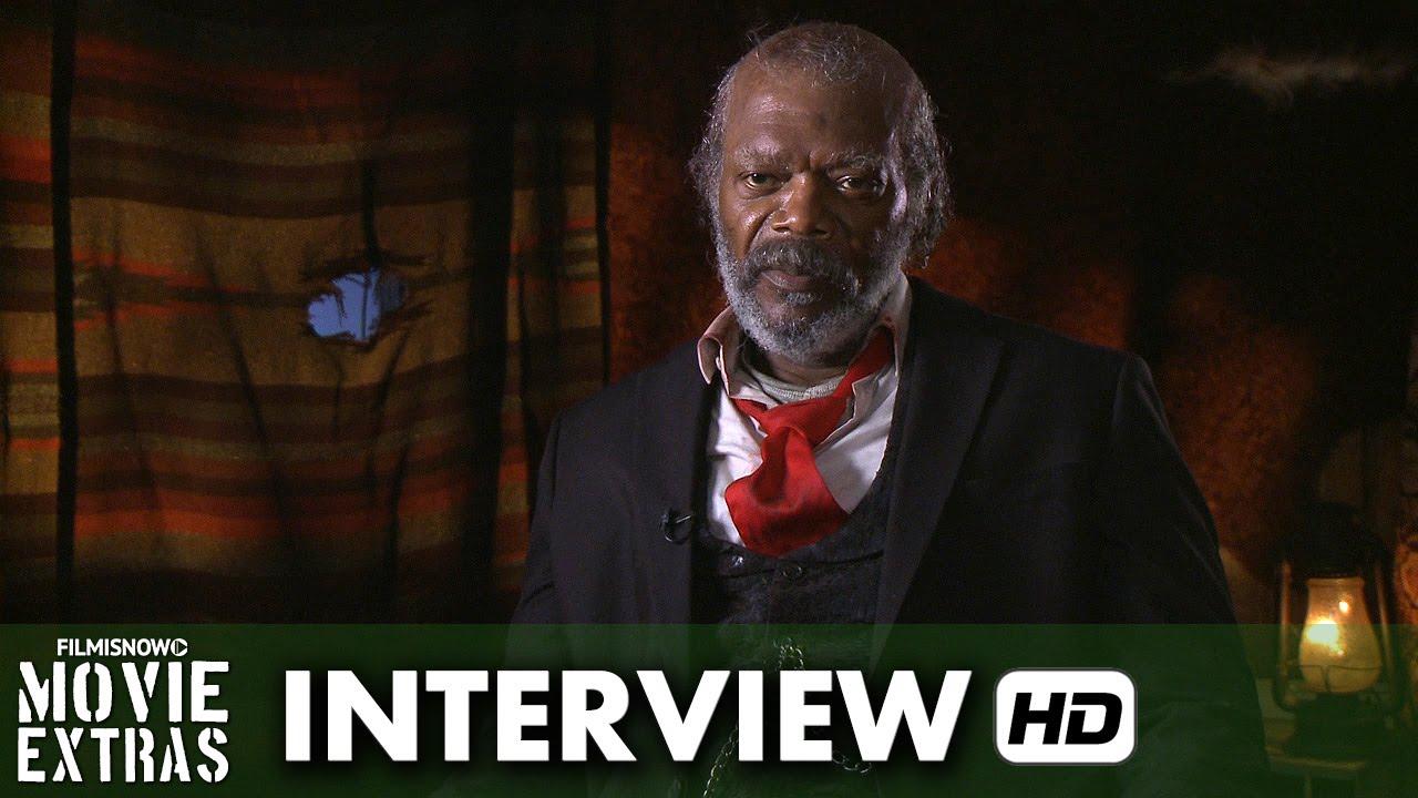 The Hateful Eight (2015) Behind the Scenes Interview - Samuel L. Jackson is 'Major Marquis Warren'