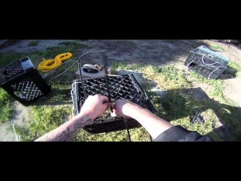 Milk Crate Crab TrapTutorial