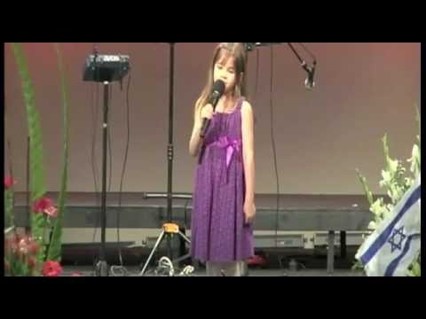 7 Year-old Sings At Grandfather's Funeral - Wise Beyond Her Years video