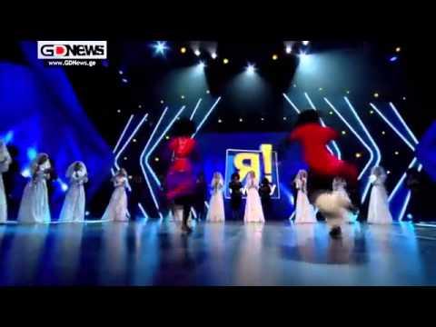 ქართული ცეკვა რუსულ შოუში და დაშოკებული შოუბიზნესის წარმომადგენლები ᴴᴰ