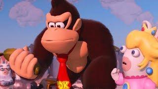 Mario + Rabbids: Kingdom Battle - Donkey Kong Adventure - All Cutscenes