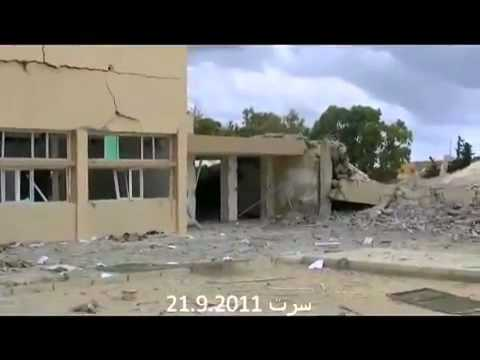 Libya : All Schools in Sirte have been completely destroyed by NATO Bombing