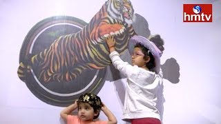 Illusion Museum | Trampoline Art Exhibition in Inorbit Mall at Madhapur | hmtv